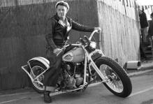 Old Motorcycle Owner