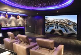 luxurious home theatre sofa