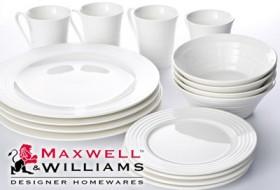 White-Basics-Maxwell-Williams-Dinner-Set