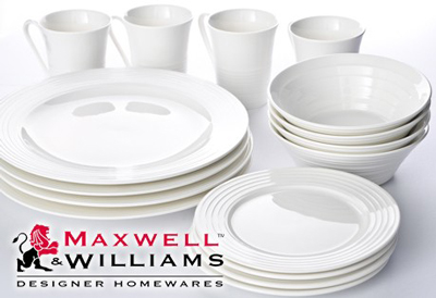 White-Basics-Maxwell-Williams-Dinner-Set