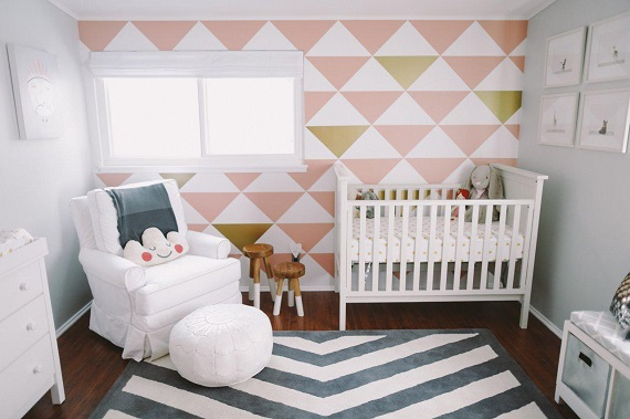 baby room wall paper