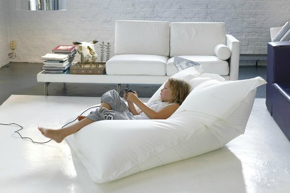 Bean Bag Chairs Sink Into A New Generation Of Chic Comfort