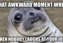 Laughing at Your Funny Jokes