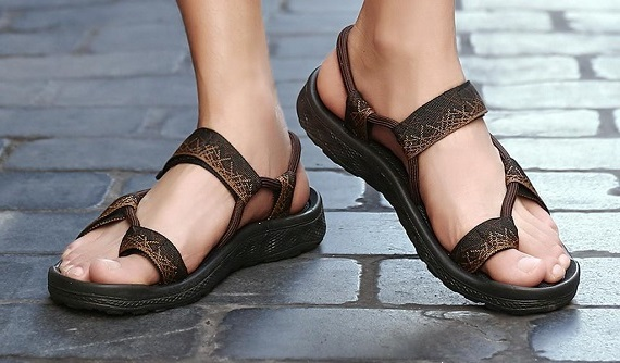 How to Wear Man Sandals Without Looking Out of Place