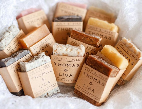 handmade wedding soaps