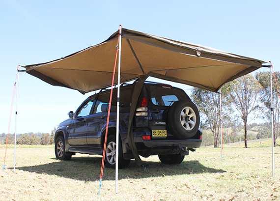 4x4 canopy