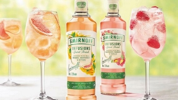 flavoured spirits like gin